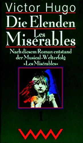 9783353010407: Die Elenden. Les Misérables, 3 Bde.