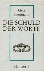 Die Schuld Der Worte: Neumann, Gert