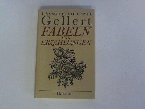 Fabeln und Erzählungen. Mit Illustrationen von Johann Wilhelm Meil. - Gellert, Christian Fürchtegott.