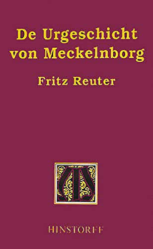 9783356005738: De Urgeschicht von Meckelnborg