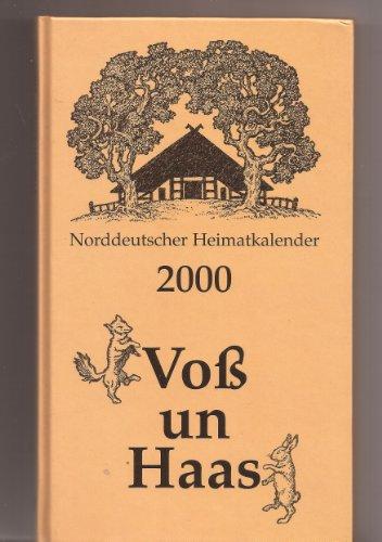9783356008104: Norddeutscher Heimatkalender 2000 - Voss un Haas