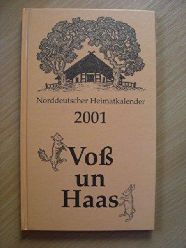 9783356008593: Norddeutscher Heimatkalender 2001 - Voss un Haas