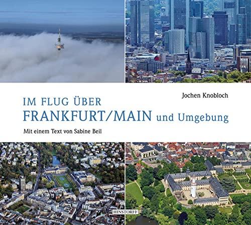 9783356019308: Im Flug über Frankfurt/Main und Umgebung