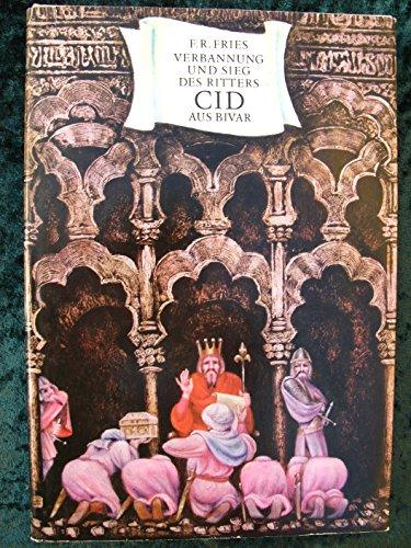 9783358002155: Verbannung und Sieg des Ritters Cid aus Bivar