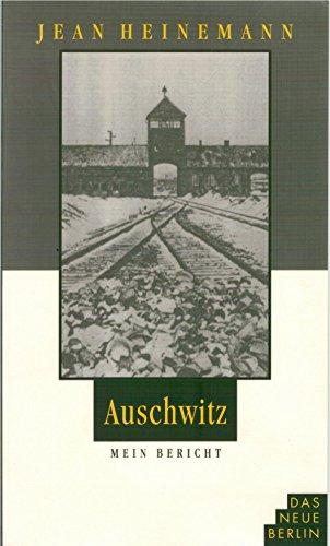 9783359007654: Auschwitz - Mein Bericht