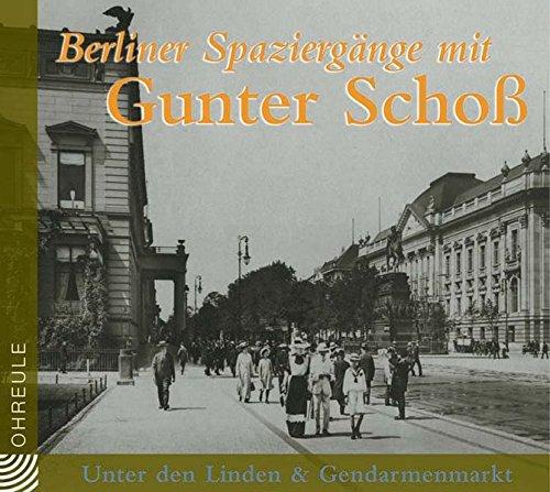 9783359010821: Berliner Spazierg�nge. Gendarmenmarkt. & Unter den Linden. CD