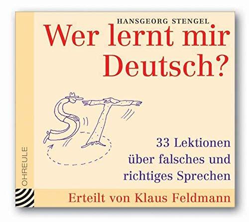 9783359010838: Wer lernt mir Deutsch? CD (Ohreule)