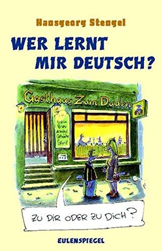 9783359022039: Wer lernt mir deutsch