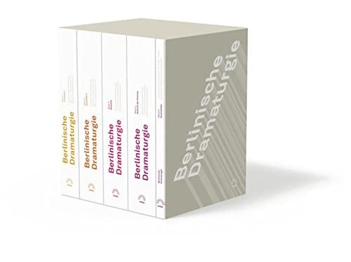 9783359025122: Berlinische Dramaturgie. Gesprächsprotokolle der von Peter Hacks geleiteten Akademiearbeitsgruppen: in fünf Bänden
