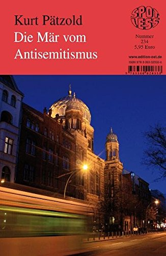 Die Mar vom Antisemitismus - Band 234 - Imported By Yulo Inc.