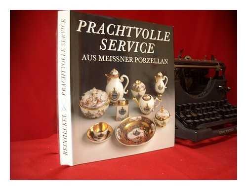 Prachtvolle Service aus Meissner Porzellan.: Reinheckel, Günter
