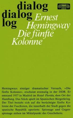 Die fünfte Kolonne: Hemingway, Ernest