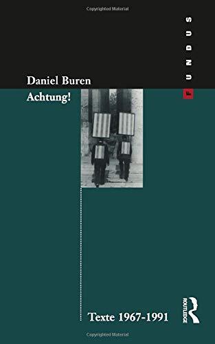9783364003139: Achtung! Texte 1969-1994