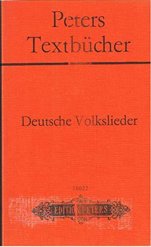 9783369000249: Deutsche Volkslieder. 280 Volksliedtexte