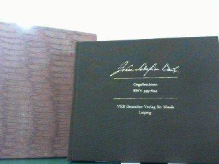 9783370000979: Orgelb�chlein, BWV 599-644. Faksimile des Autographs. Herausgegeben von Heinz-Harald L�hlein.