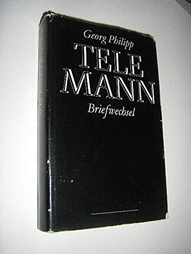 9783370002454: Briefwechsel. Sämtliche erreichbaren Briefe von und an Telemann