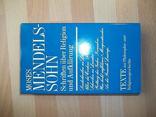 9783372000755: Schriften über Religion und Aufklärung