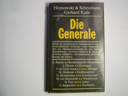 9783373001959: Die Generale