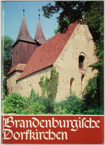 9783374004409: Brandenburgische Dorfkirchen