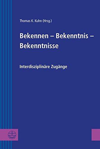 9783374037827: Bekennen - Bekenntnis - Bekenntnisse (Greifswalder Theologische Forschungen)