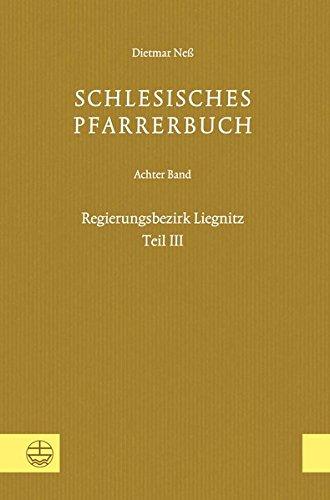 Schlesisches Pfarrerbuch: Dietmar Neß