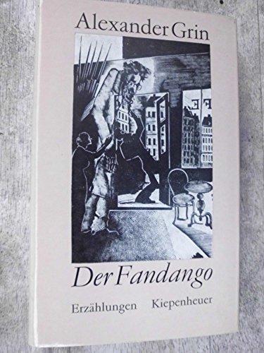 9783378002081: Der Fandango. Erzählungen