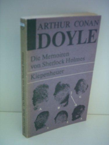 9783378003132: Die Memoiren von Sherlock Holmes. Sämtliche Sherlock-Holmes-Erzählungen. 2. Sammlung