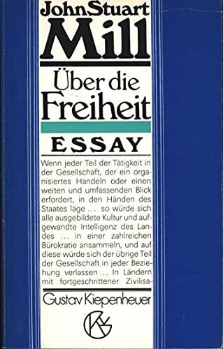9783378004269: Über die Freiheit. Essay