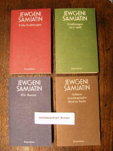9783378004580: Ausgewählte Werke in vier Bänden.