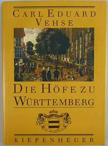 9783378005181: Die Höfe zu Württemberg
