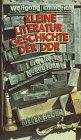9783378010000: Kleine Literaturgeschichte der DDR
