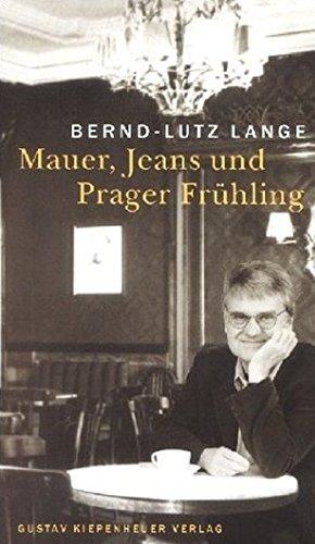 9783378010666: Mauer, Jeans und Prager Frühling
