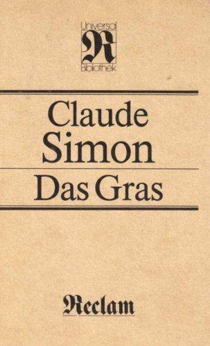 Das Gras: Simon, Claude: