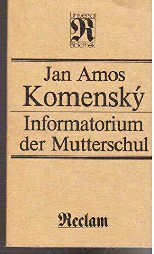9783379000598: Informatorium der Mutterschul (Reclam jun., Leipzig)
