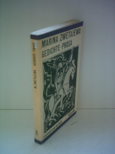 Gedichte - Prosa - russisch und deutsch - aus der Reihe: Reclams Universal-Bibliothek - Band: 1159 - Zwetajewa, Marina -
