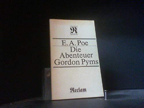 AVENTURAS DE ARTHUR GORDON PYM: ALLAN POE EDGAR