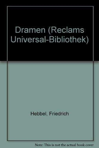 9783379002875: Dramen (Reclams Universal-Bibliothek) (German Edition)