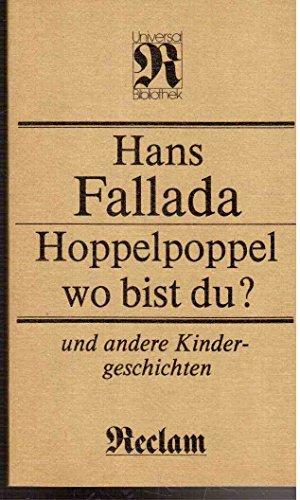 9783379004145: Hoppelpoppel, wo bist du?: Und andere Kindergeschichten (Reclams Universal-Bibliothek) (German Edition)