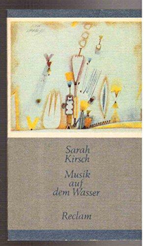 9783379004480: Musik auf dem Wasser: Gedichte (Reclams Universal-Bibliothek) [Paperback] by ...