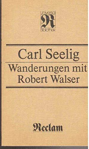 9783379004503: Wanderungen mit Robert Walser