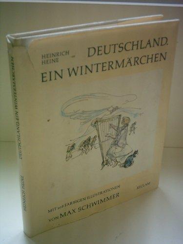 heinrich Heine. Deutschland ein Wintermärchen, Mit 108: Max Schwimmer
