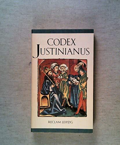 9783379005302: Codex Justinianus