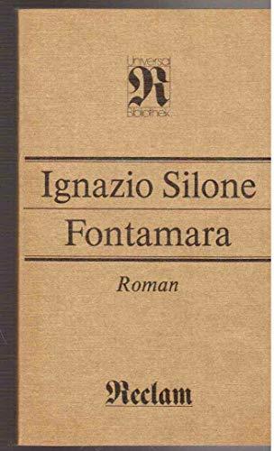 9783379005937: Fontamara: Roman ; [im Anhang ein Auszug aus