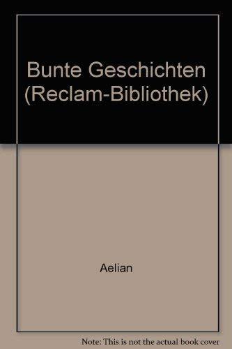 9783379005982: Bunte Geschichten (Reclam-Bibliothek) (German Edition)