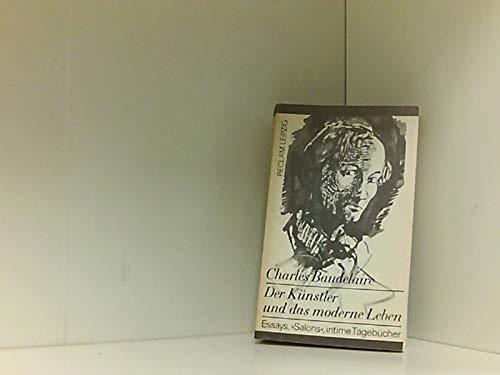 9783379006040: Der Künstler und das moderne Leben. Essays,