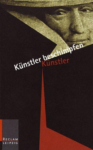9783379015790: Künstler beschimpfen Künstler.