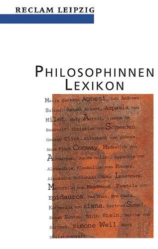 9783379015844: Philosophinnen- Lexikon.