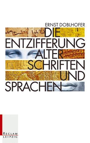 9783379017022: Die Entzifferung alter Schriften und Sprachen.