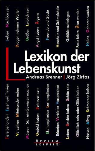 9783379200158: Lexikon der Lebenskunst.