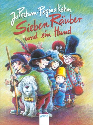 9783401022307: Sieben Räuber und ein Hund. ( Ab 6 J.).
